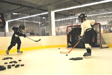 Synthetic Ice Pad Shooting